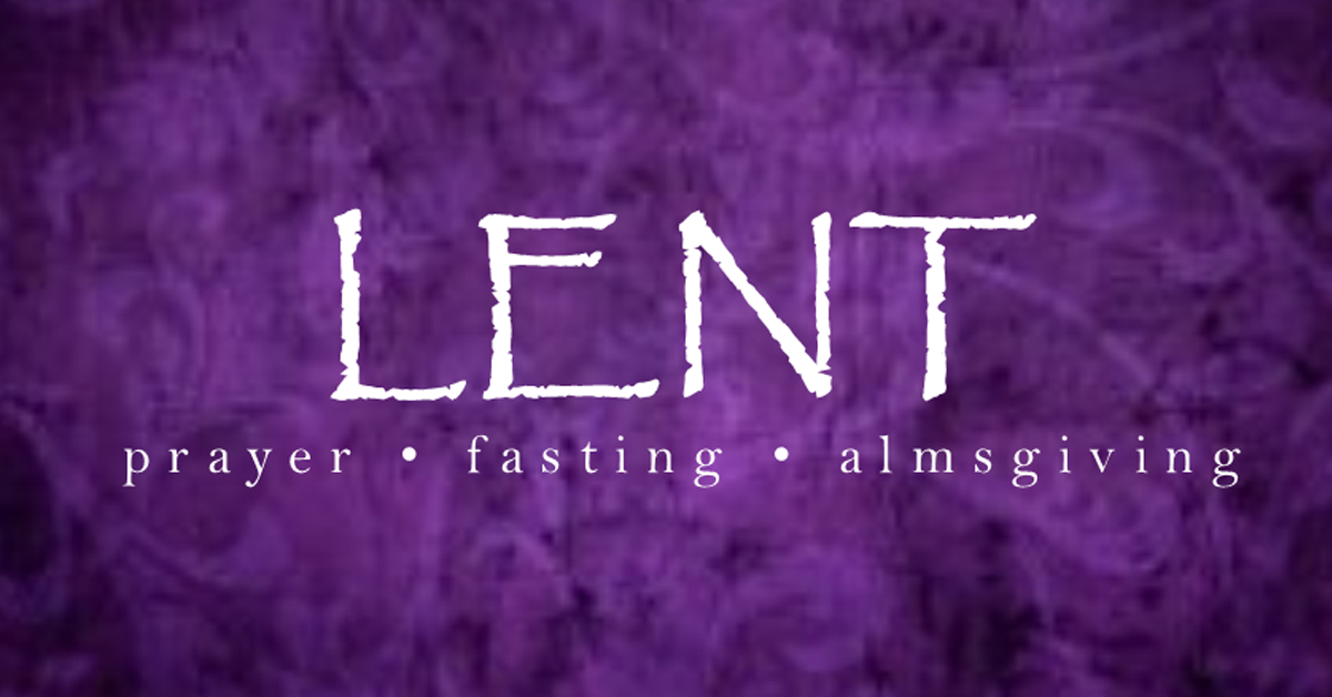 Lent Schment Has Time Prayer Fasting