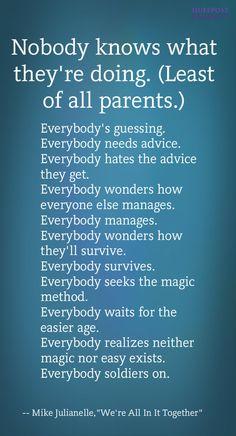 parenting cliches